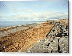 Burren View Acrylic Print by John Quinn