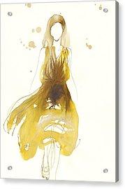 Catwalk Acrylic Print by Toril Baekmark