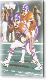 Denver Broncos John Elway Acrylic Print by Joe Hamilton