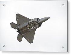 F-22 Raptor Acrylic Print by Sebastian Musial