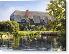 Flatford - England Acrylic Print by Joana Kruse