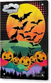 Halloween 10 Acrylic Print by Mark Ashkenazi