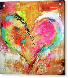 Love Is Divine Acrylic Print by Ivan Guaderrama
