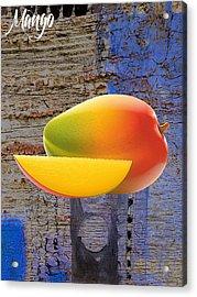 Mango Collection Acrylic Print by Marvin Blaine
