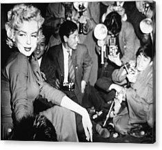 Marilyn Monroe Acrylic Print by American School