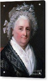 Martha Washington, American Patriot Acrylic Print by Photo Researchers