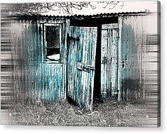 Old Hut Acrylic Print by Tom Gowanlock
