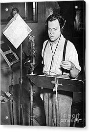 Orson Welles (1915-1985) Acrylic Print by Granger