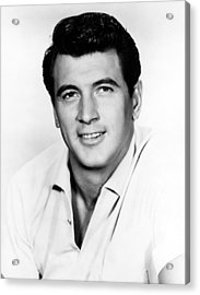 Rock Hudson, 1950s Acrylic Print by Everett