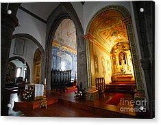 Sao Miguel Arcanjo Church Acrylic Print by Gaspar Avila
