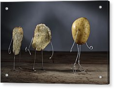 Simple Things - Potatoes Acrylic Print by Nailia Schwarz