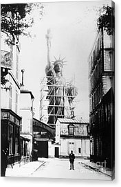 Statue Of Liberty, Paris Acrylic Print by Granger
