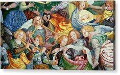 The Concert Of Angels Acrylic Print by Gaudenzio Ferrari