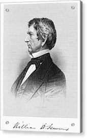 William Seward (1801-1872) Acrylic Print by Granger