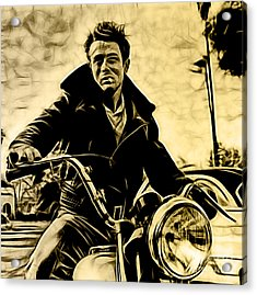 James Dean Collection Acrylic Print by Marvin Blaine