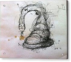3161 Feeling Slow Original Acrylic Print by Mark M  Mellon