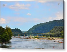 340 Bridge Harpers Ferry Acrylic Print by Bill Cannon