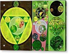 Abstract Painting - Myrtle Acrylic Print by Vitaliy Gladkiy