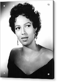 Carmen Jones, Dorothy Dandridge, 1954 Acrylic Print by Everett