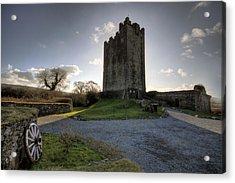 Dysert O Dea Castle Acrylic Print by John Quinn