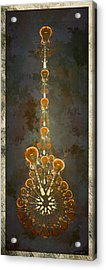 Electric Time Light Acrylic Print by Michael Spatola