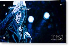 Jack White Collection Acrylic Print by Marvin Blaine