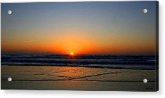 Ocean Sunrise Sunset Acrylic Print by W Gilroy