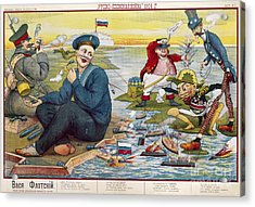 Russo-japanese War, C1905 Acrylic Print by Granger