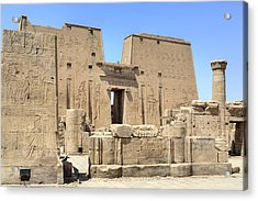 Temple Of Edfu - Egypt Acrylic Print by Joana Kruse