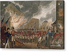 Washington Burning, 1814 Acrylic Print by Granger