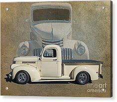 41 Chev Acrylic Print by Jim  Hatch