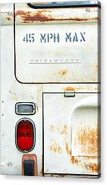 45 Mph Max Acrylic Print by Tim Gainey