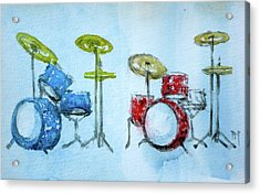 4th Of July Drums Acrylic Print by Pete Maier