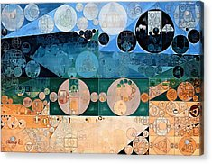 Abstract Painting - Pancho Acrylic Print by Vitaliy Gladkiy