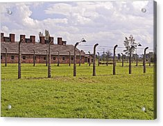 Auschwitz Birkenau Concentration Camp. Acrylic Print by Fernando Barozza