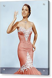 Dorothy Dandridge, Ca. 1950s Acrylic Print by Everett