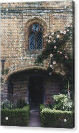 English Cottage Acrylic Print by Joana Kruse