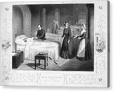 Florence Nightingale Acrylic Print by Granger