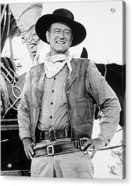 John Wayne (1907-1979) Acrylic Print by Granger