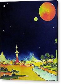 Planet X Acrylic Print by James Smith