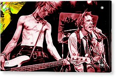 Sex Pistols Collection Acrylic Print by Marvin Blaine