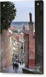 Prague Acrylic Print by Andre Goncalves