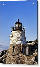 Castle Hill Lighthouse Acrylic Print by John Greim