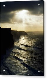 Cliffs Of Moher, Co Clare, Ireland Acrylic Print by The Irish Image Collection