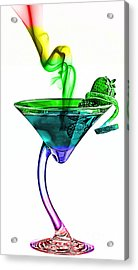 Cocktails Collection Acrylic Print by Marvin Blaine