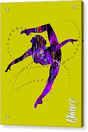 Dance Collection Acrylic Print by Marvin Blaine