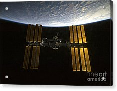 International Space Station Acrylic Print by Stocktrek Images