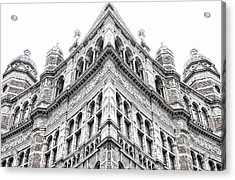 London Building Acrylic Print by Tom Gowanlock