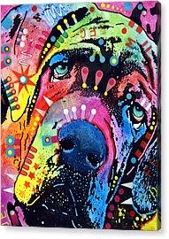 Neo Mastiff Acrylic Print by Dean Russo