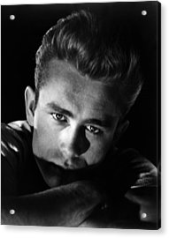 Rebel Without A Cause, James Dean, 1955 Acrylic Print by Everett